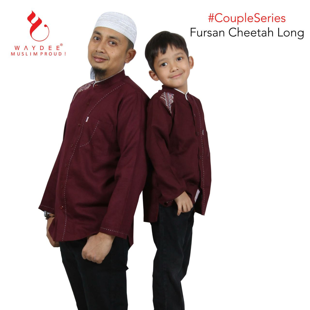 BAJU KOKO FURSAN CHEETAH LONG COUPLE