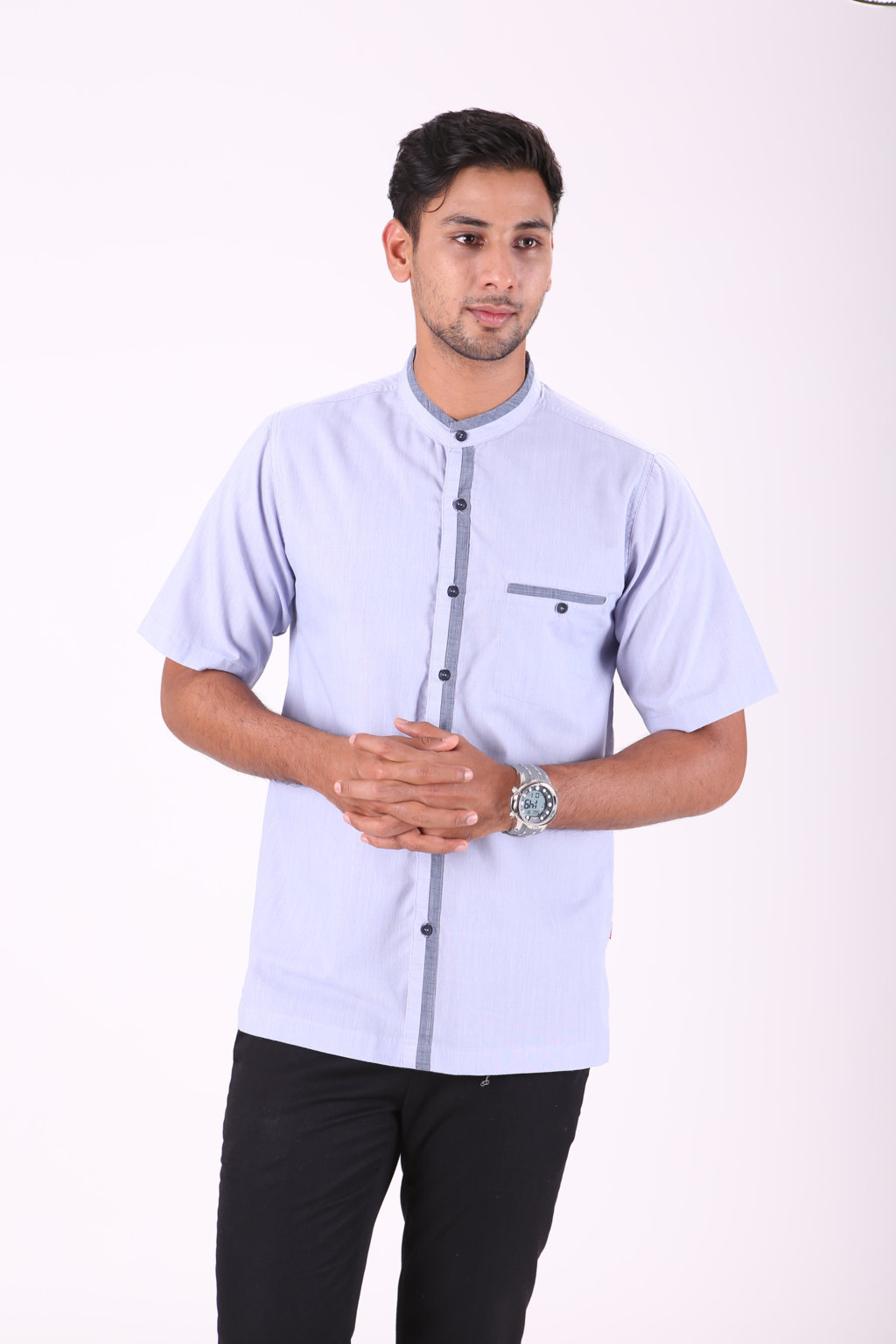 BAJU KOKO URBAN CALID LIGHT BLUE
